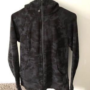 Lululemon Camo Scuba Jacket